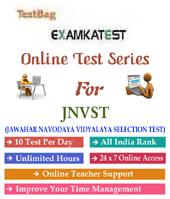 Jawahar Navodaya Vidyalaya Selection Test 1 month