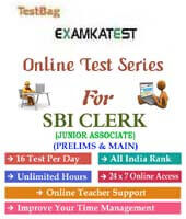sbi clerk prelims mock test