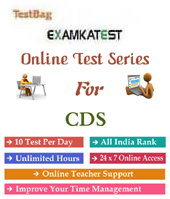 Combined Defence Services Examination Cds 1 month