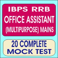 Ibps rrb office assistant multipurpose mains exam syllabus