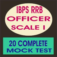 Ibps rrb officer scale 1 mock test
