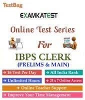 ibps clerk exam preparation material