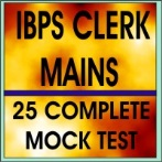 ibps clerk mains mock test