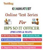 ibps it specialist officer online mock test