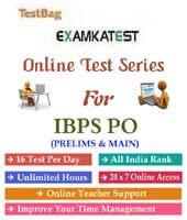ibps po online test