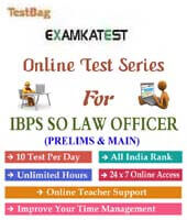 Ibps specialist law officer