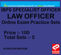 ibps specialist law officer online test series free