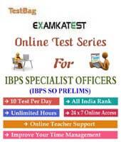 ibps specialist officer exam