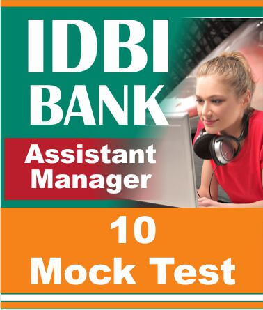 Idbi assistant manager exam model papers