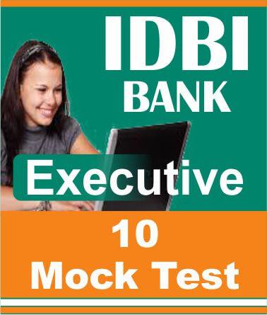 idbi bank executive exam practice tests