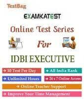 idbi bank executive online test
