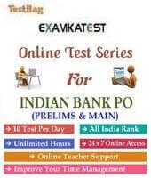 Indian bank po Indian bank probationary officer