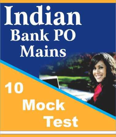 Indian bank po mock test online