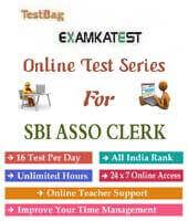 Mock test for sbi associates clerk