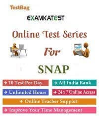 mock test for snap test papers