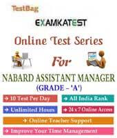 nabard grade b exam online practice test