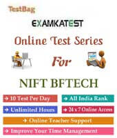 nift bf tech entrance exam sample papers