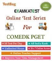 online test for comedk