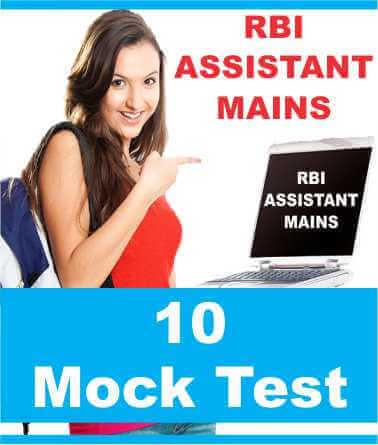 rbi assistant exam practice test