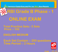 rbi grade b mock test