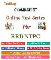 Rrb ntpc online test syllabus