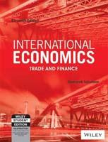 International economics trade and finance