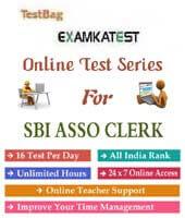 sbi associate clerk online test