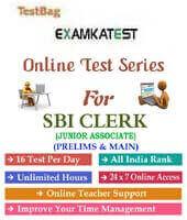 SBI Clerk online Mock Test