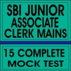 sbi junior associate clerk mains mock test