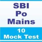 sbi po mains online mock test