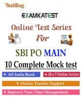 sbi po mains online test series