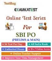 sbi po online mock test series