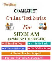 Sidbi recruitment of assistant manager