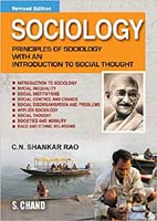 Sociology principles of sociology with an introduction to social thoughts