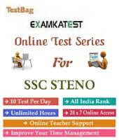 ssc stenographer online practice paper